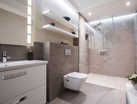 9 Stylish and Comfortable Bathroom Toilet Desig