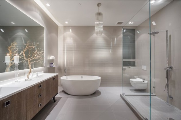 COMFORTABLE BATHROOM DESIGN