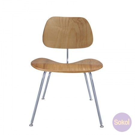 Replica Eames DCM Dining Chair | Dining chairs, Chair, Eam