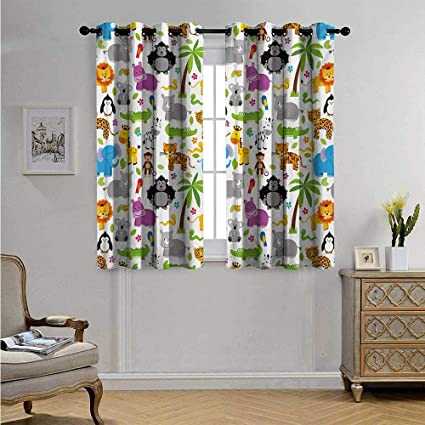 Amazon.com: Nursery Drapes for Living Room Various Types of .
