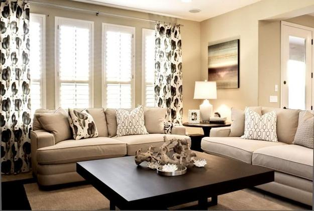 Modern Ideas to Create Peaceful and Comfortable Living Room Desig