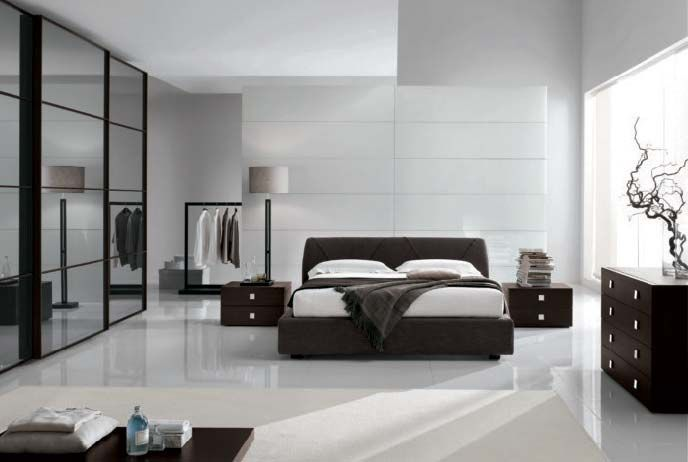 Contemporary bedroom decorating ideas and pictures | Modern .