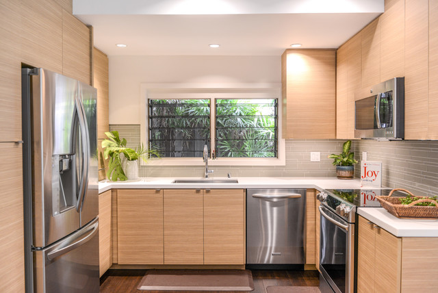 Natural Elements - Contemporary - Kitchen - Hawaii - by MCYIA .