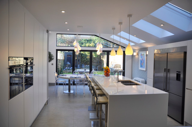 South west london house renovation and kitchen extension .