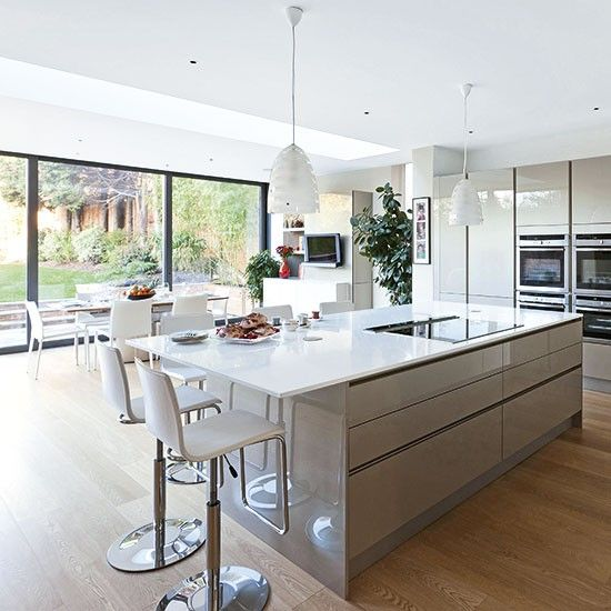 Modern kitchen extensions - our pick of the best | Kitchen living .