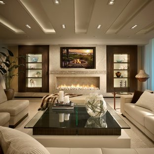 75 Beautiful Contemporary Living Room Pictures & Ideas | Hou