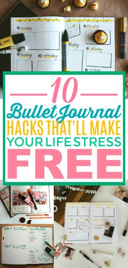 10 Bullet Journal Hacks to Get You Organized for the New Year .