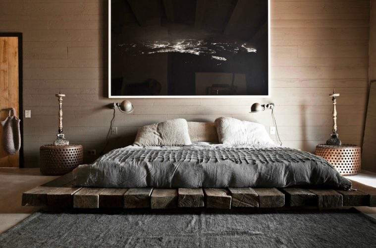 Cool Platform Bed Ideas and Design For Small Ro