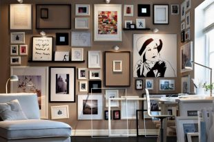 Make a Corner Memorable with Picture Wall - The Architecture Desig