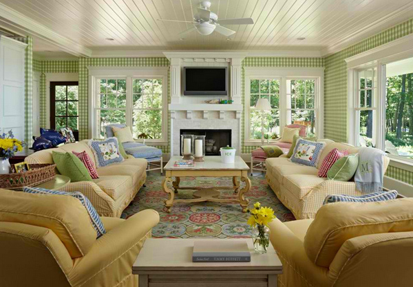 15 Homey Country Cottage Decorating Ideas for Living Rooms | Home .