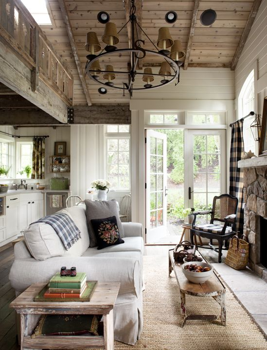 40 Cozy Living Room Decorating Ideas | Cottage living, Cozy living .