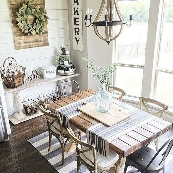 9 Easy Ways to Wake Up Your Space | French country dining room .