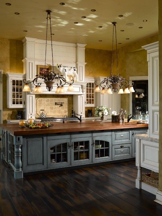 French Country Kitchen Design, Pictures, Remodel, Decor and Ideas .