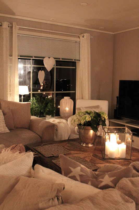 23 Ways To Make Your New Place Feel Like Home | Cozy living rooms .