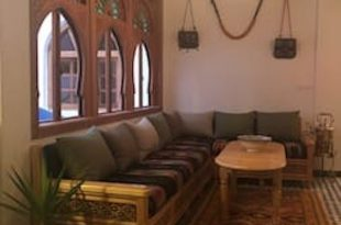 2 Typical Traditional Moroccan House with a cozy atmosphere .