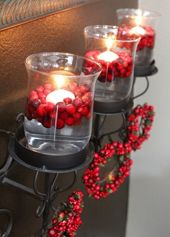 Top 40 Christmas Decoration Ideas Using Cranberries - Christmas .