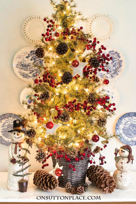 Tabletop Christmas Tree | Easy, Fast & Festive - On Sutton Pla