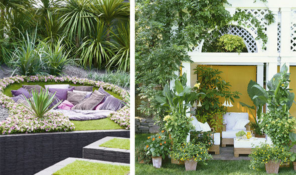 Alan Titchmarsh's tips on creating a hidden hideaway | Express.co.