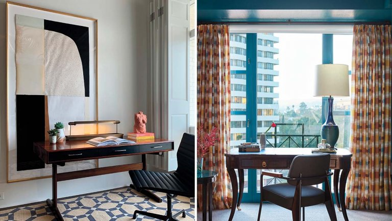 Designer Tips on Taking a Home Office to the Next Level Amid a .