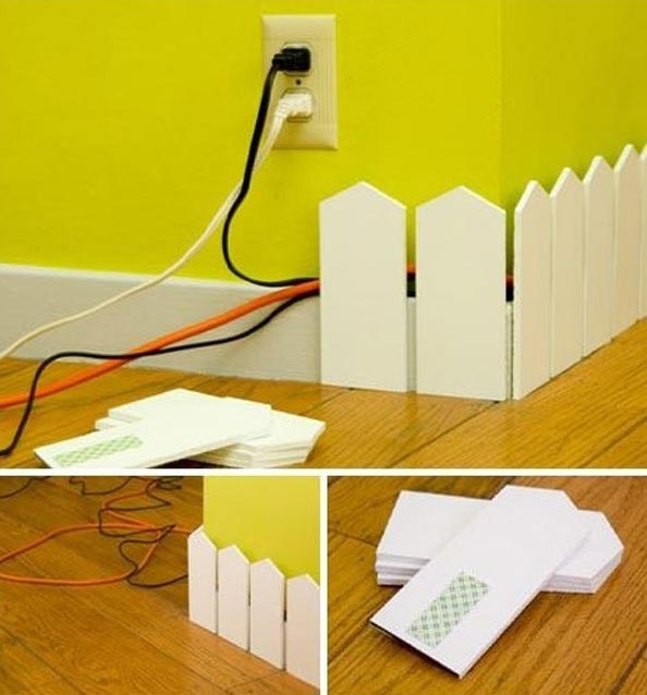20 Creative DIY Ideas To Hide The Wires in The Wall Room - Amazing .