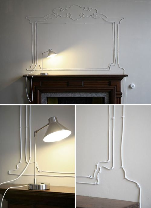 20 Creative Cables Decorating Ideas Without Hiding | Decor, Home .