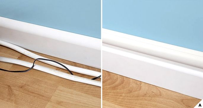 Creative Ideas: How To Hide Wires and Cords | Hide wires on wall .