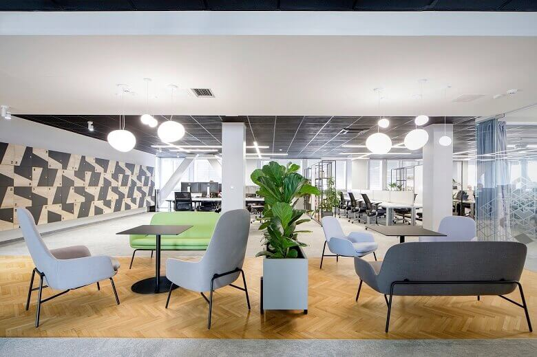 Office Design Project - Creative and Natural Workspace Ideas .