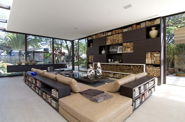 Creative Living Room Design By Using A Modernist Interior Inside .