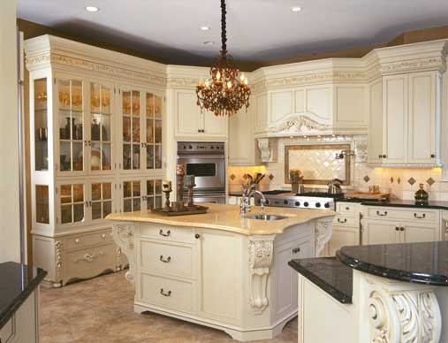 Custom Cabinetry with High-End Kitchen   Design