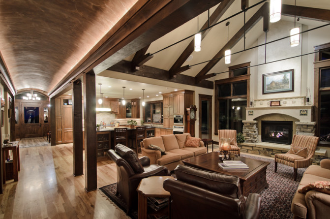 Custom Timber Frame Homes Archives - Framewor