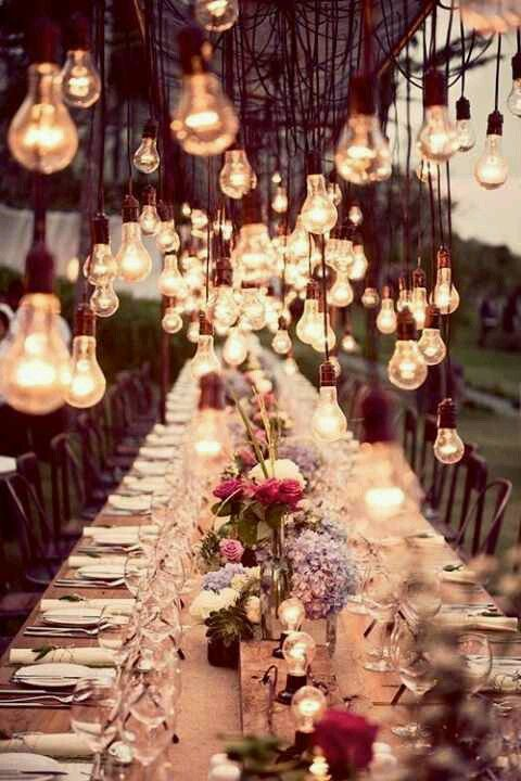 Light bulb decor. Great for a natural look. (With images .
