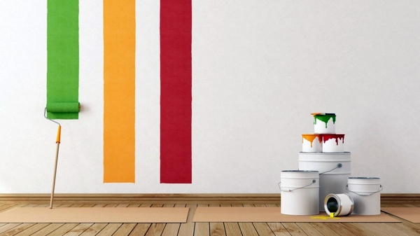 Decorating Colorful Walls