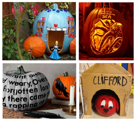 Literary Pumpkin Decorating Contest - All Ages! - The Newbury Town .