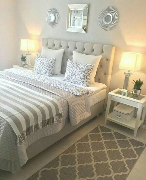 45+ Outstanding Millennial small master bedroom ideas on a budget .