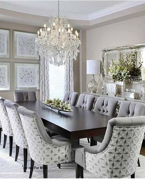 Fantastic Dining Room Decoration Ideas for 2019 | Elegant dining .