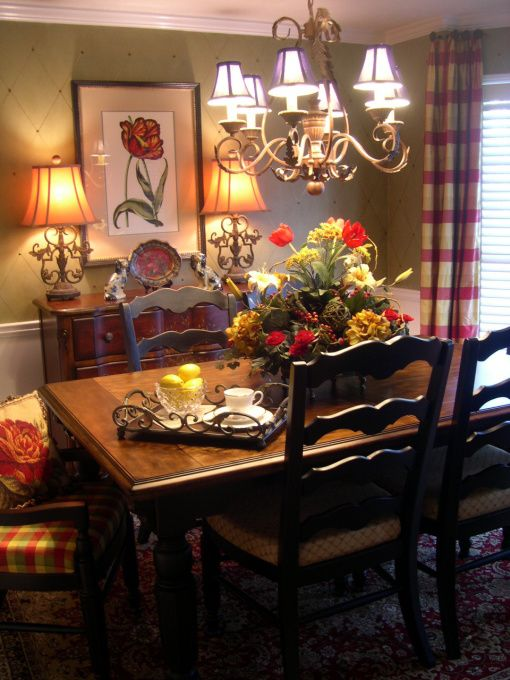 Information About Rate My Space | French country dining room decor .