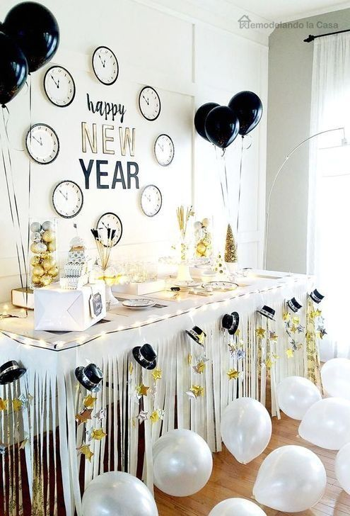 54 Easy DIY New Years Eve Party Decor Ideas interior #design #54 .