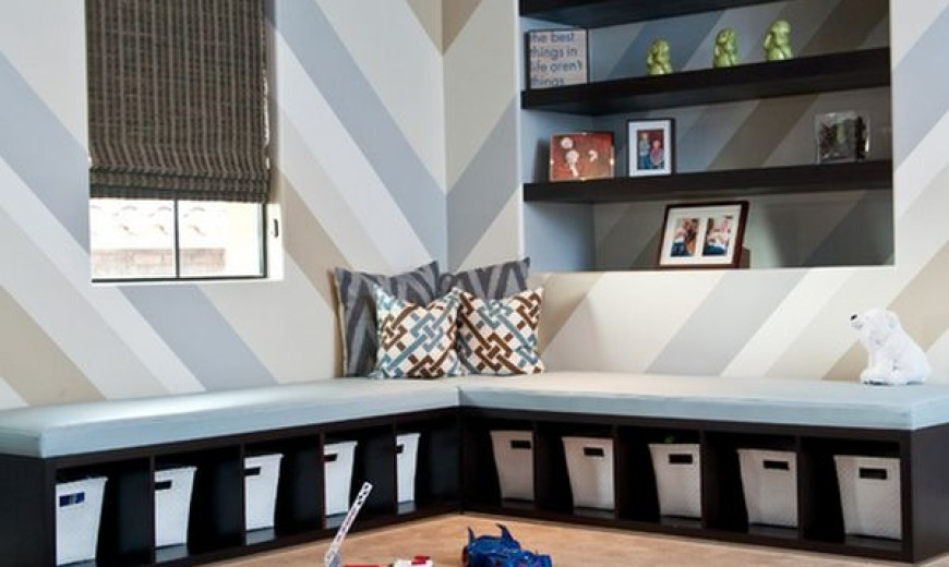 40 Kids Playroom Design Ideas That Usher In Colorful Jo