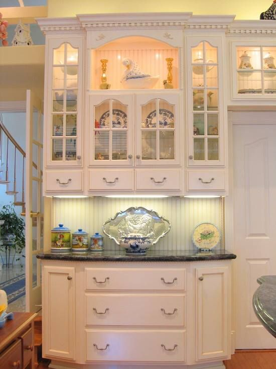 Beautiful Built In China Cabinet..... | French country kitchens .