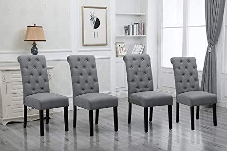Amazon.com - HomeSailing Comfortable Kitchen Dining Room Chairs .