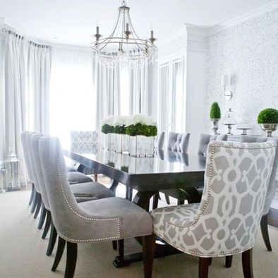 "comfy dining room chairs // ""Where can folks get better acquainted ."