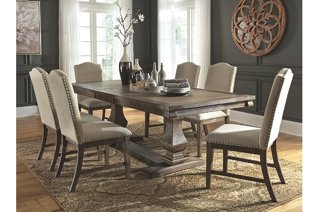Johnelle Dining Room Extension Table | Ashley Furniture HomeSto