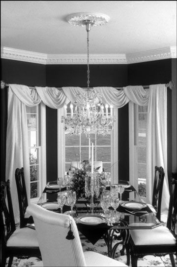 Design Tip of the Week (8.3.09): Curtain Call | Dining room .