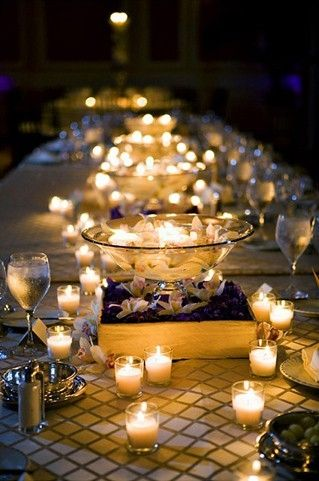 Dinner Party Table Settings | ... beautiful table setting idea for .