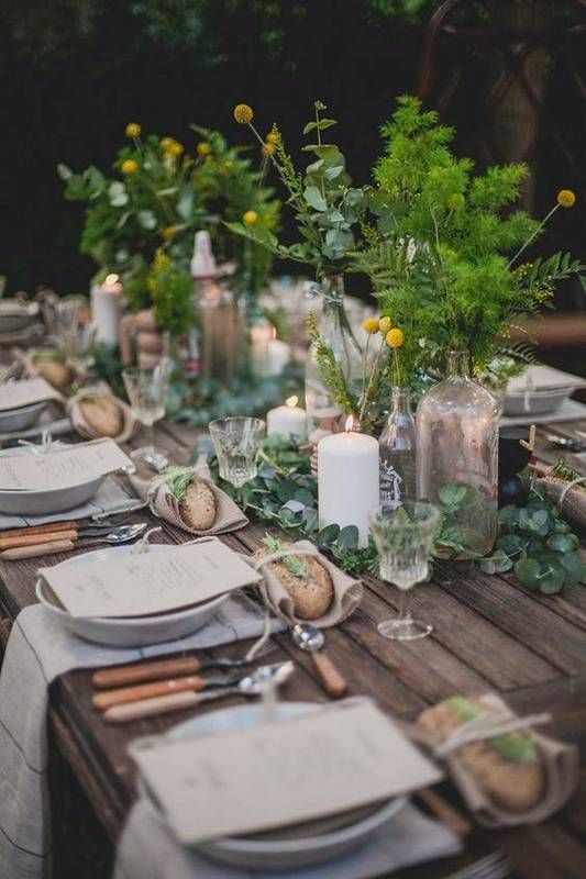 30 Stylish Summer Table Decorating Ideas | Outdoor dinner parties .