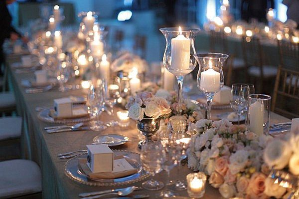The Party Table | Dinner party table, Table centerpieces, Candle .