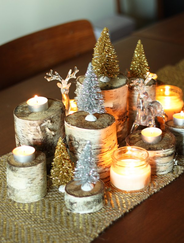 27-diy-christmas-table-decoration-ideas-homebnc | World inside .