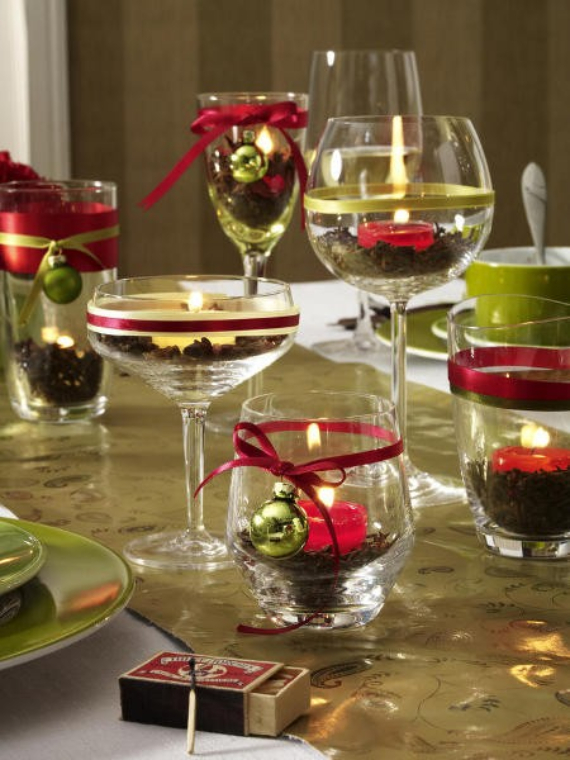 DIY Christmas Table Setting& Centerpieces Ideas (19) – family .