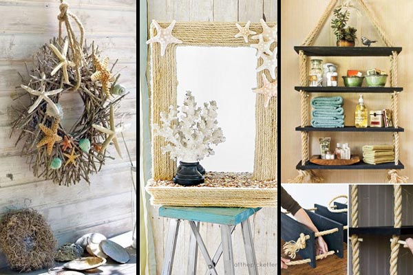36 Breezy Beach Inspired DIY Home Decorating Ideas - Amazing DIY .