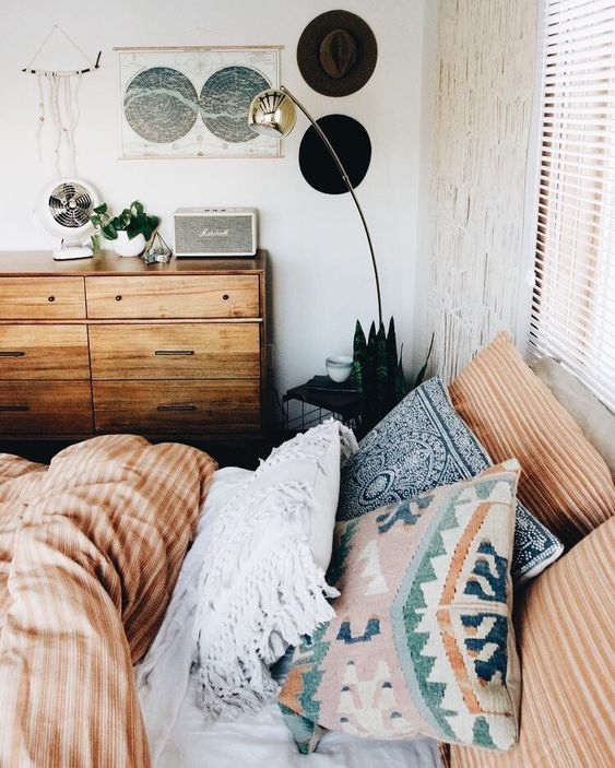 cute boho bedroom decor ideas - simple modern home design .